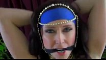 Belly Dancer with Tied hands and Mouth