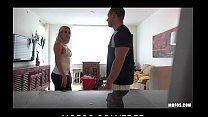 Blond maid Anna Marie is caught stealing and fu...