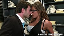 madison ivy s perfect ass gets split by her boss s cock