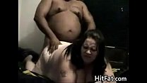Fat White Woman And Her Fat Dark Man