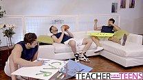 Hot Teacher Jennifer White DP Fuck With Students thumbnail