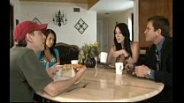 rayveness does not stop until her mouth is full of sticky jizz