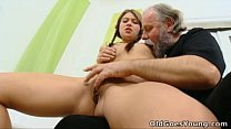 man older by out eaten pussy her has Anna