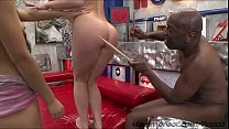Gorgeous lady Vittoria and hot chick Alice in h...