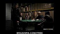 debt poker husband's pay to fucks lingerie in wife brunette Horny