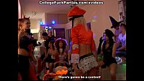 hard orgy an into turned party Halloween