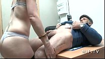 Horny french amateur slut sodomized in threeway... thumb