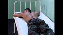 soldier absent without leave arrested and fucke...