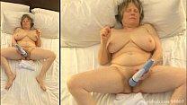 Curvy mom goes into a masturbation frenzy