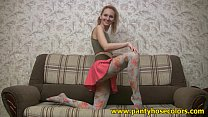 Color pantyhose for fancy mood