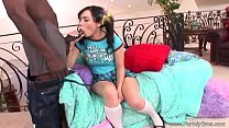 Interracial BBC For latina Teen