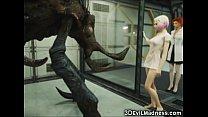 girls! destroy monsters alien 3d