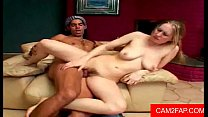 ond teen with hairy pussy fucks big dick very hot