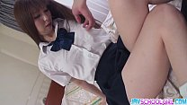 rin yazawa shaved pussy fuck and creamed