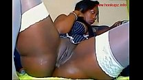 Ebony babe showing off thumbnail