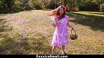 ExxxtraSmall - Teen Hunts Easter Eggs to Spread...