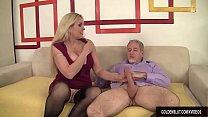 Секс со старухой толстой