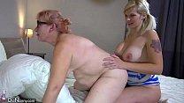 OldNanny Two horny lesbian woman is enjoying wi...