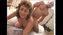 50 Year Old Amateur Granny Gets Busy on Big Bla...