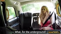 Cute blonde lady bangs new cabbie in the backseat of the cab porn videos