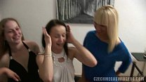 girls and one lucky man at czech swingers