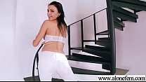 Nasty Lonely Girl (olga snow) Fill Her Holes Wi...