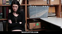Shoplyfter - Pale Skinny Teen Banned & Fucked For Stealing porn videos