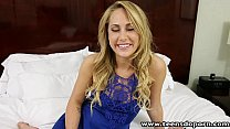 TeensDoPorn  sexy ass blonde babe Carter Cruise first time porn casting - download porn videos