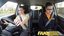 Fake Driving School little English teen gets fucked after her lesson porn videos