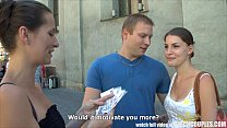 CZECH COUPLES Young Couple Takes Money for Publ... thumb