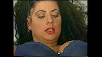 BustyTitziana Redford mega boobs in blue lingerie