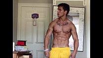 michael hoffman new naked flexing