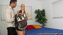 InnocentHigh Schoolgirl blonde teen Macy Cartel...