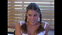 bb denise   heather 1 blonde teen fucks by the pool