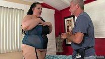 BBW Becki Butterfly gets a full body massage
