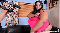 HugeTit Black BBW Cotton Candi Fucks Her Ex's F...
