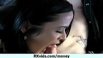 Horny schoolgirl bitche having sex for money 22