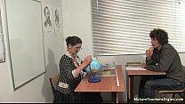 Russian mature teacher 5 - Irina (geography les...