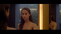 (2015) machina ex in scenes nude vikander Alicia