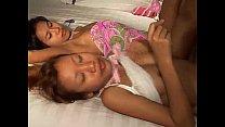 Saori & Saya Thai teens lick ice-cream titty