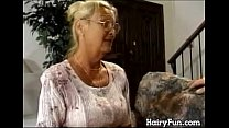 Horny Granny Riding Her Big Son In Law)