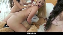 bffs   hot teens hump bear during sleepover