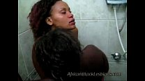 sweet afro lezzie tongues black girlfriends coochie in showerthroom 2