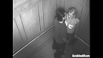 Sexy Time In The Elevator Gets Caught On Cam porn videos