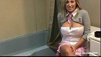 Busty Blonde Step Daughter Smoking porn videos
