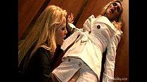 Busty Blonde Spies Seduce A Sleeper Agent
