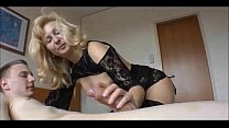 Blonde Milf Cuckolds Hubby With a Teen
