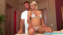 massage loving busty euro babe pounded
