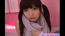 Yurika Goto is fucked in mouth and in hairy noo...
