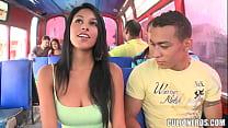 bus un en folla colombiana Morenita